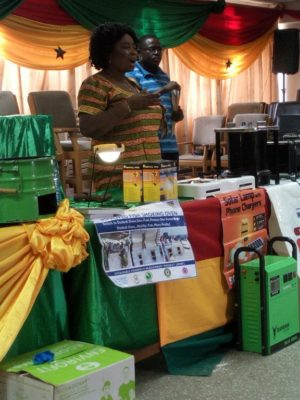 Women in Tema Municipality educated on clean cookstoves and energy technologies